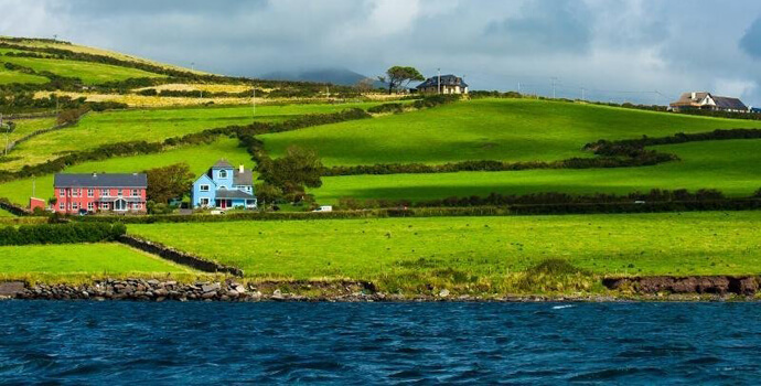 well maintained holiday home in Ireland by the sea